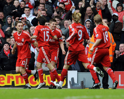 Liverpool vs Blackburn