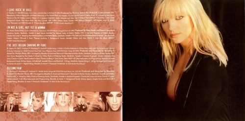 My Prerogative Greatest Hits 2004 booklet