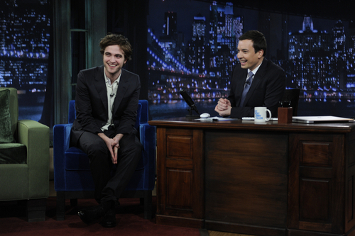 Photo of Rob on 'Jimmy Fallon'
