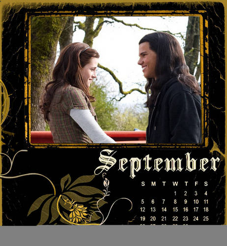 Twilight Desktop Calender