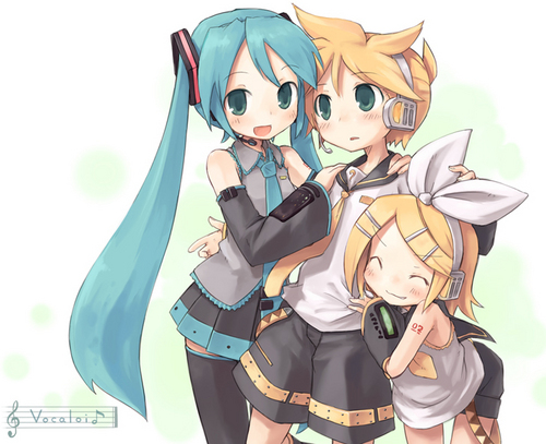 Bunches of Miku :D