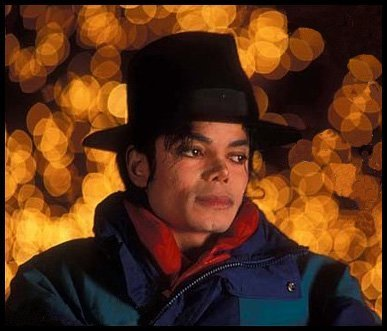 MJ In The Twinkling Lights Of Neverland