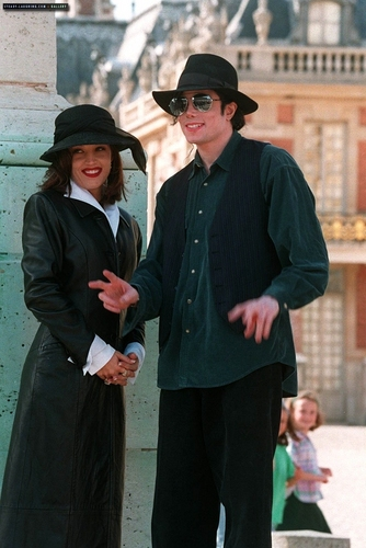 MJ in Versailles kasteel