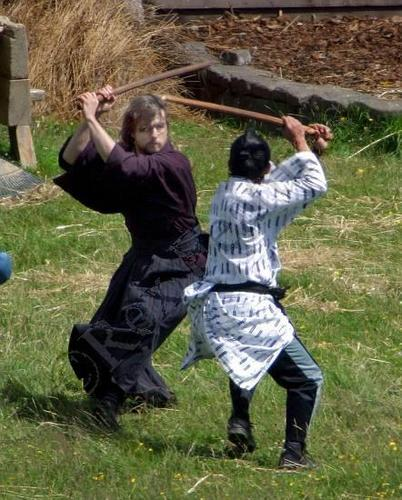 The Last Samurai - Behind scenes