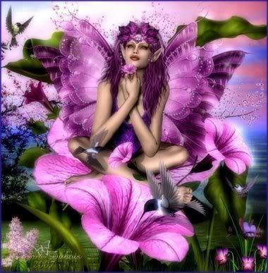 Purple Nature Fairy