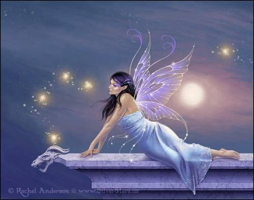 Fairy On A Ledge