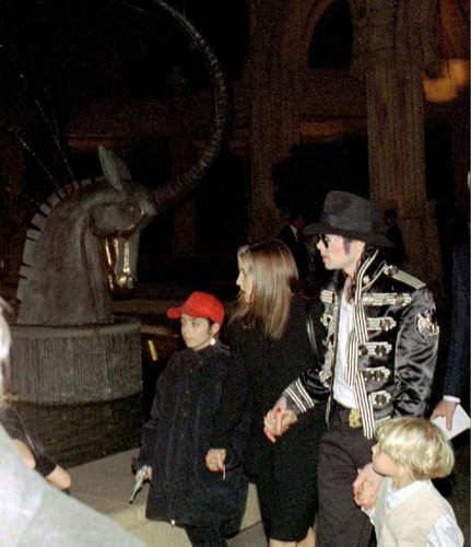 MJ And LM (And Omar Bhatti & LM's kids)