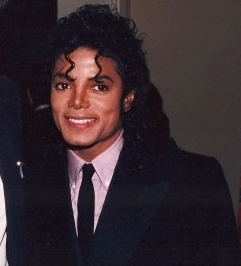 MJ sweat smiles