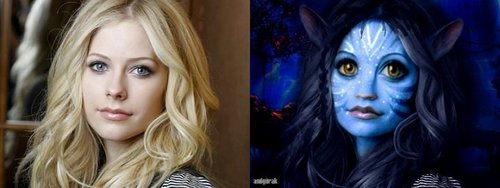 Avril Lavigne as an Avatar!