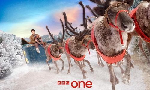 BBC one Christmas Ident Promos