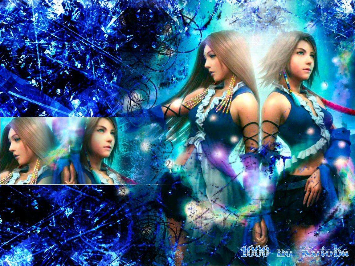 Ffx 2 Final Fantasy X 2 Wallpaper 10925966 Fanpop