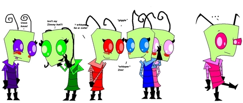 Invader Zim fã Girls