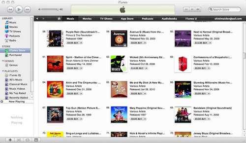 MAMD #65 on iTunes Soundtracks