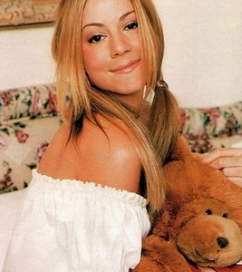 Mariah Teddy beer Photoshoot Rare!