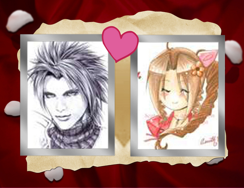 Zack and aerith 4ever