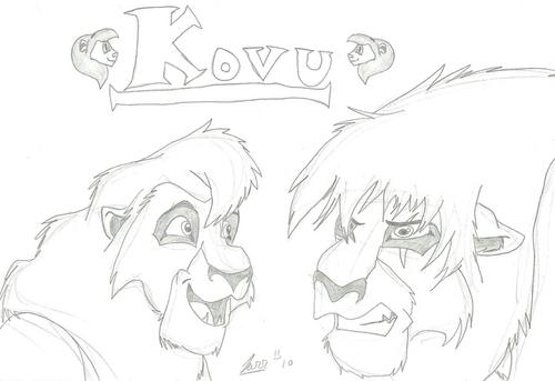 BoltsBiggestFan Kovu Fan Art Mar 2010