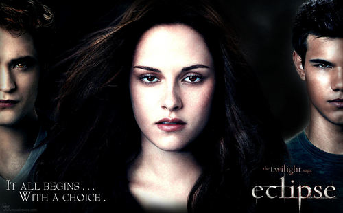 Desktop wallpaper for The Twilight Saga Eclipse