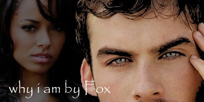 Fanfic banner - Why I am