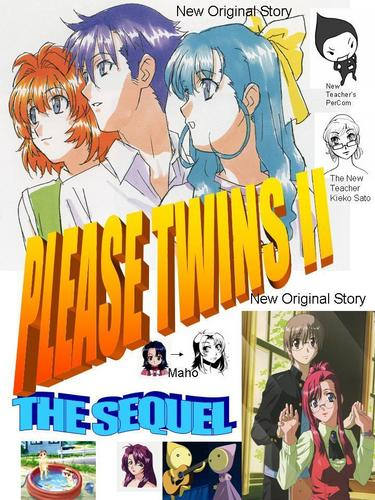 Please Twins II - the sequel cover page