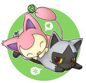 Skitty and Poochyena! (Awwwww!!)