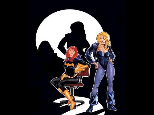 Batgril & Black Canary
