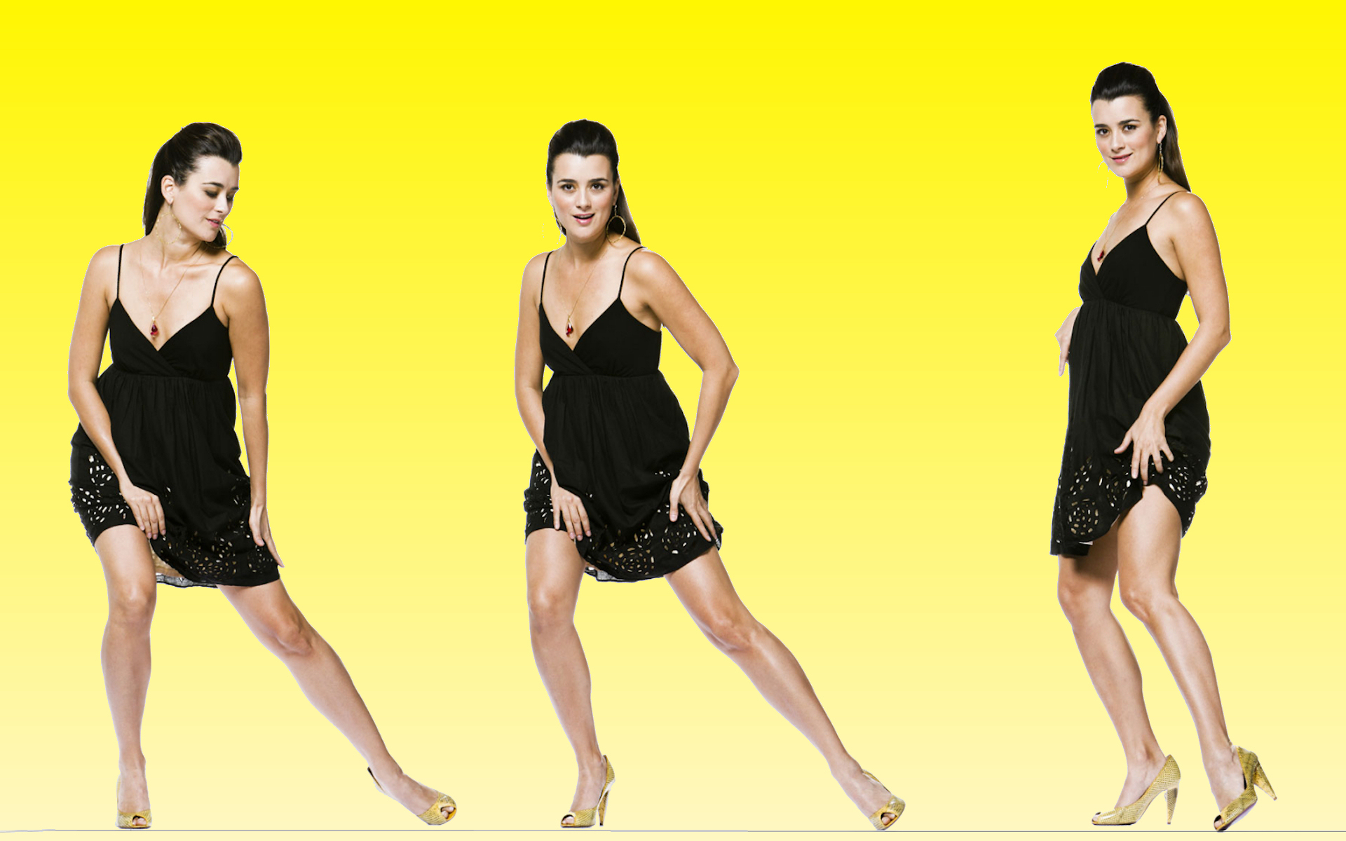 Cote De Pablo Aka Ziva Wide Screen Ncis Wallpaper 11195447