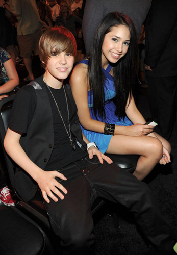 jasmin and Justin Bieber, Kids Choice Awards March 27