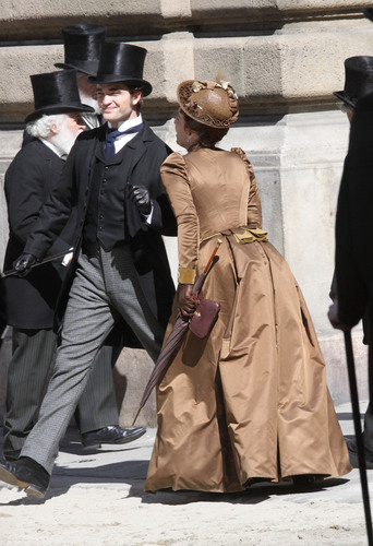 March 28th: Rob on 'Bel Ami' set