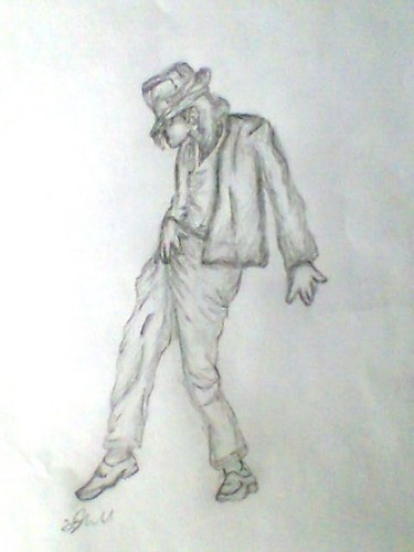 Michael Jackson Billie Jean, drawing