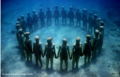Underwater Sculptures :)