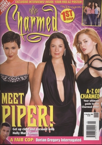 Charmed 1º magazine cover