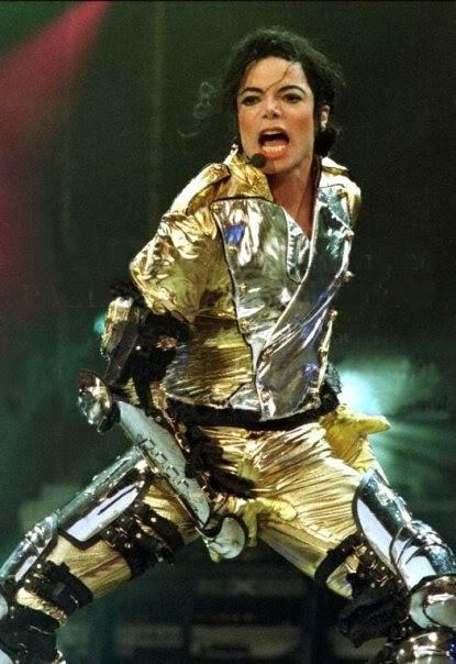 Michael in goud ♥