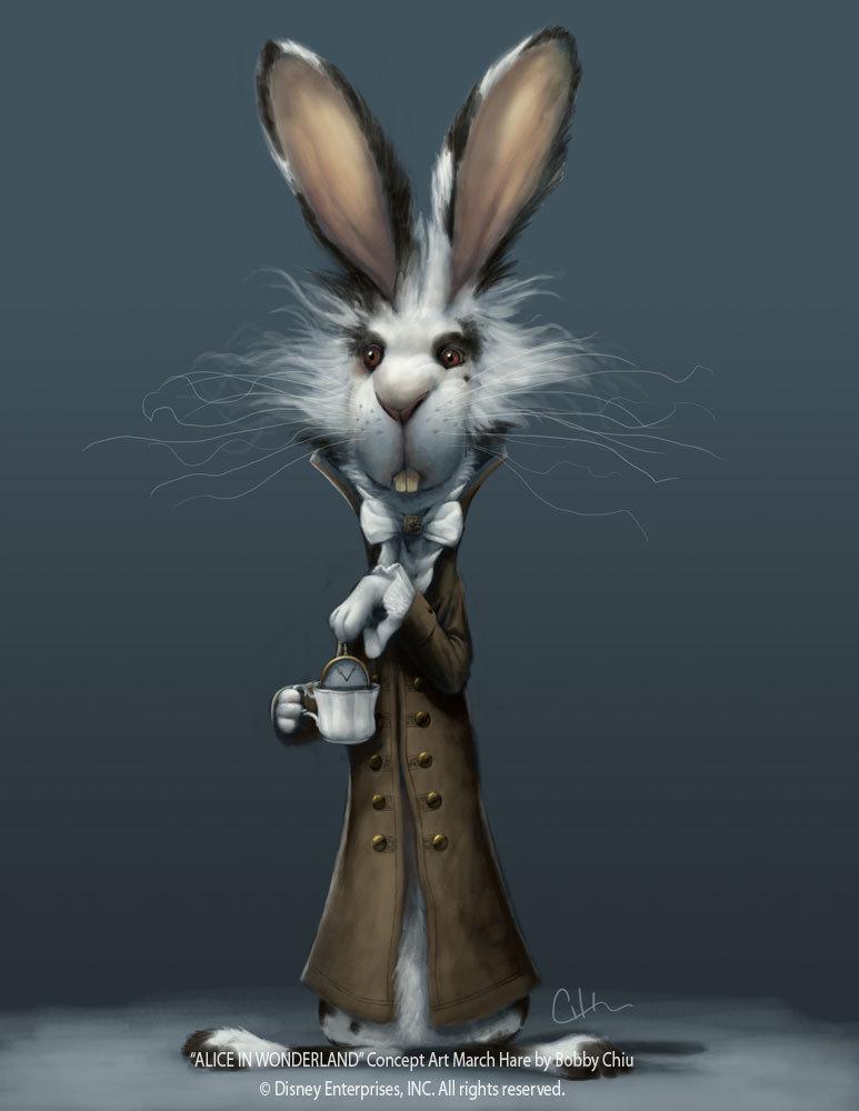 Thackery Earwicket March Hare Concept Art Alice In Wonderland 2010 Foto 11205420 Fanpop