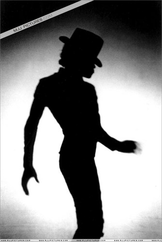 michael jackson's beautiful shadow