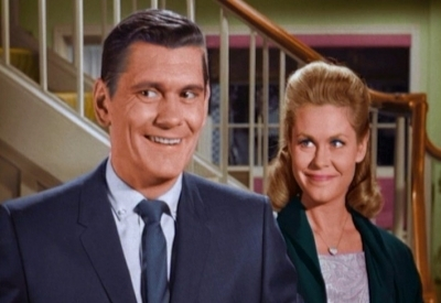 Dick York and Elizabeth Montgomery