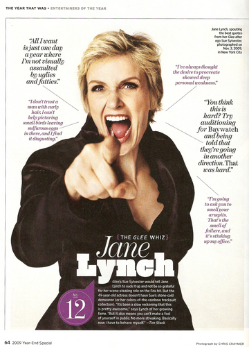 Jane in Entertainment Weekly (Jan 1, 2010)