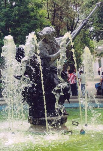 Neptune in Mexico City, Mexico.
