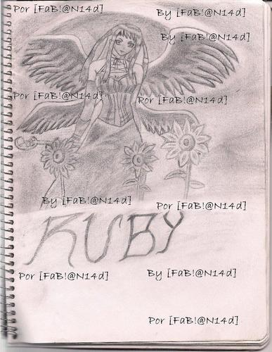 Ruby Tojo hand-drawn par my fabian14d