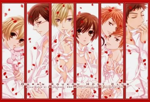 The Ouran Gang!