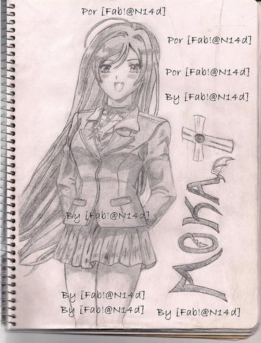 my third drawing of handmade moka