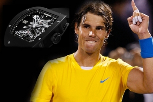 NEW SPONSOR: Rafa Nadal and watch RM 027 Tourbillion for 525 thousand U.S. dollars