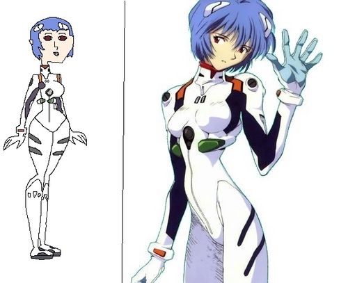 Rei Ayanami in TDI Form