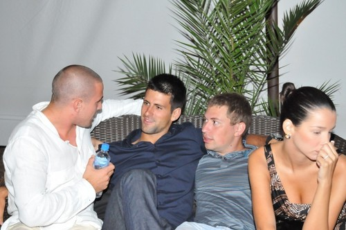 djokovic party