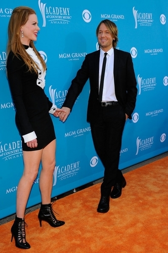 Nicole Kidman and Keith Urban at Academy of Country Musik Awards