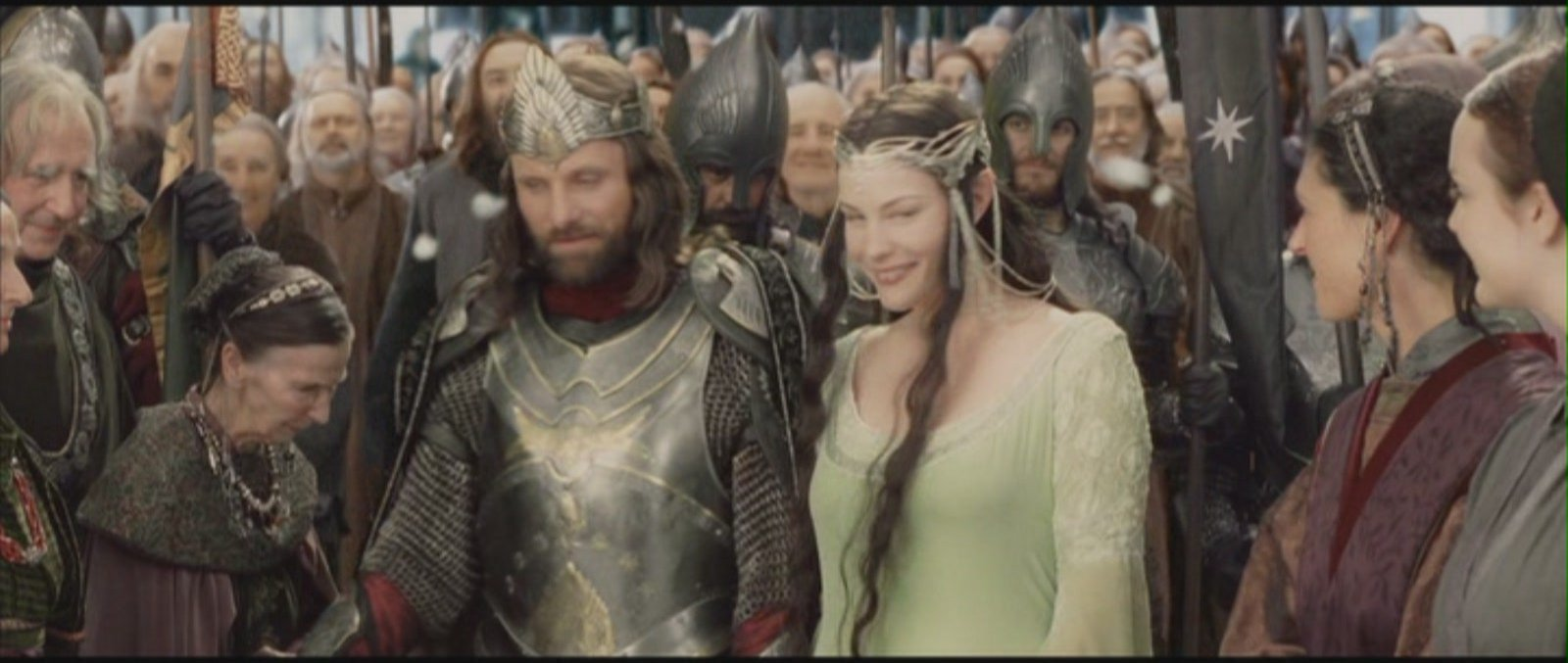 Arwen And Aragorn Lord Of The Rings Return Of The King