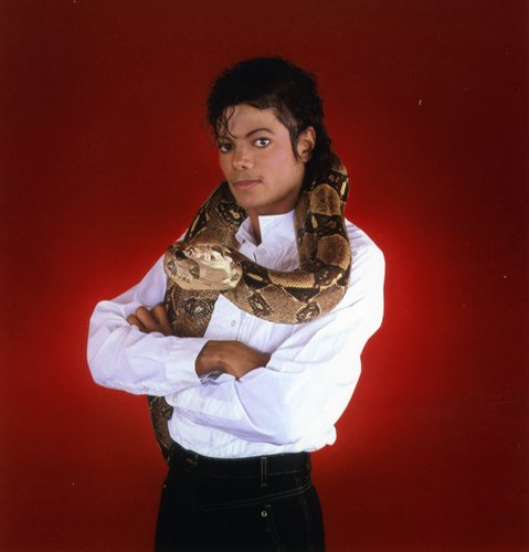 MJ with animales