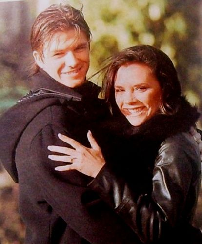 Victoria and David Beckham: Young and ordinary!