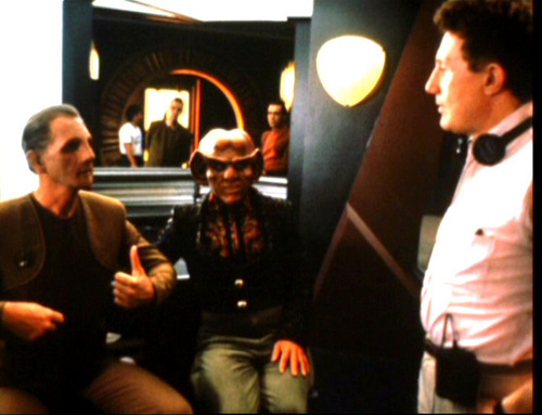 Behind the scenes of DS9