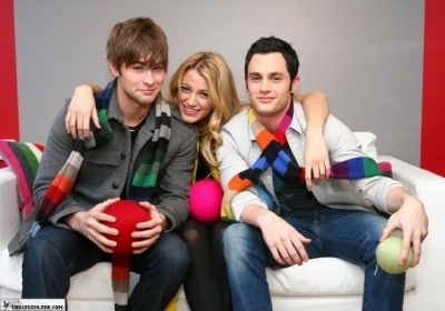 Gossip Girl GAP Photoshoot