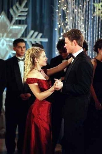 Harvey and Sabrina at the Dance